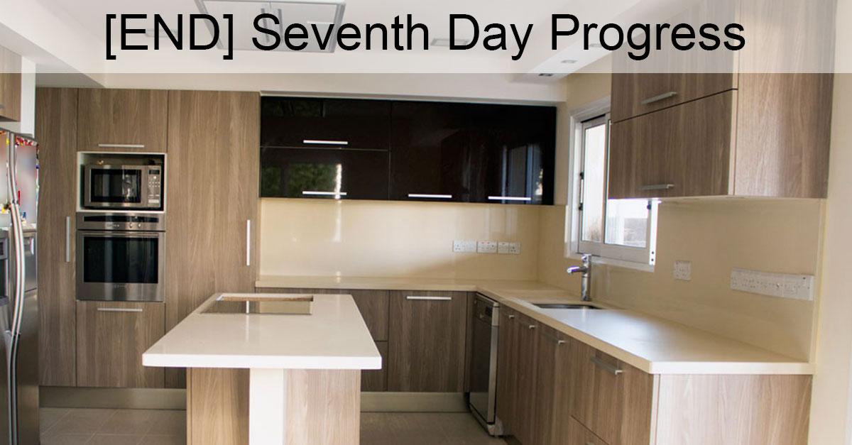Day 7: Kitchen Renovation Ending