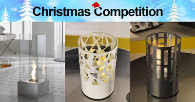 Xmas Giveaway: Win a Bioethanol Fireplace!