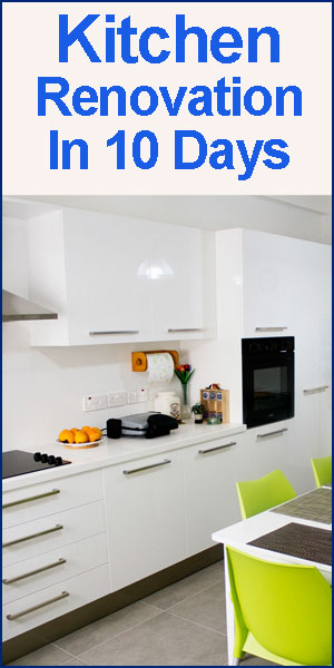 10 Days Kitchen Renovation