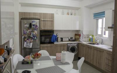 [Πριν & Μετά] Ανακαίνιση Κουζίνας σε Bronze Oak/Glossy White σε 8 Μέρες #10