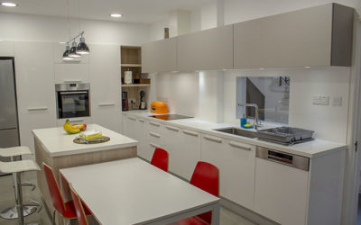 [Before & After] Kitchen Renovation in White Glossy/Olmo Duna in 12 Days ONLY